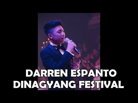 DARREN ESPANTO - Special Guest Performer at the DINAGYANG FESTIVAL IN IL...