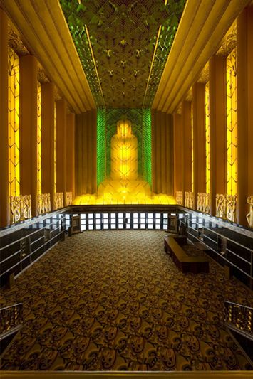 Paramount Theater, originally a movie palace when built in 1931, is now a performing arts complex owned by the City of Oakland.  Designed by San Francisco architect Timothy L. Pflueger, it is one of the finest remaining examples of Art Deco architecture.