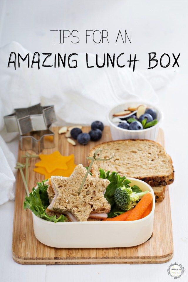 Tips for an amazing lunch box - totally achievable for us parents!