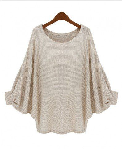 oversized batwing top