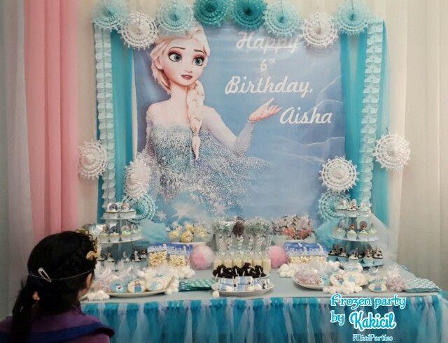 Frozen birthday party by Kakicil