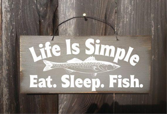 fishing sign fishing decor fishing gift by FarmhouseChicSigns