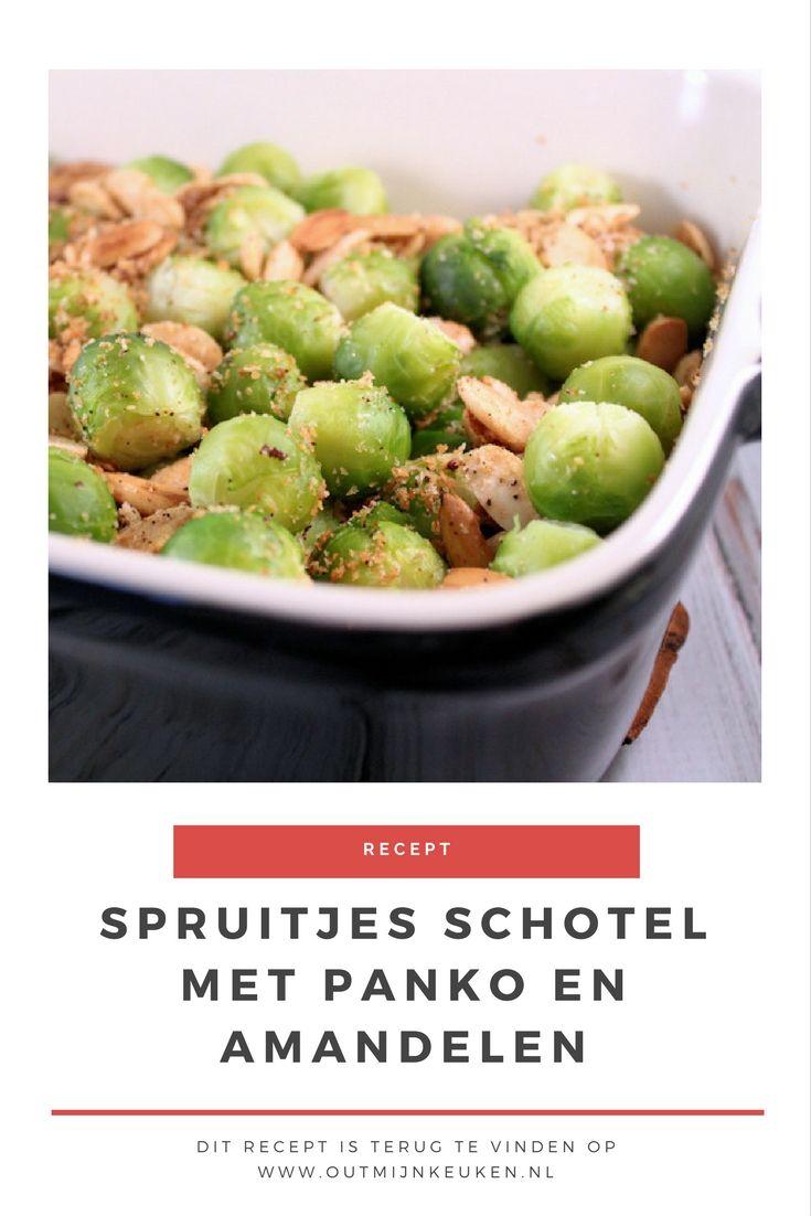 Recept | Spruitjesschotel met amandelen