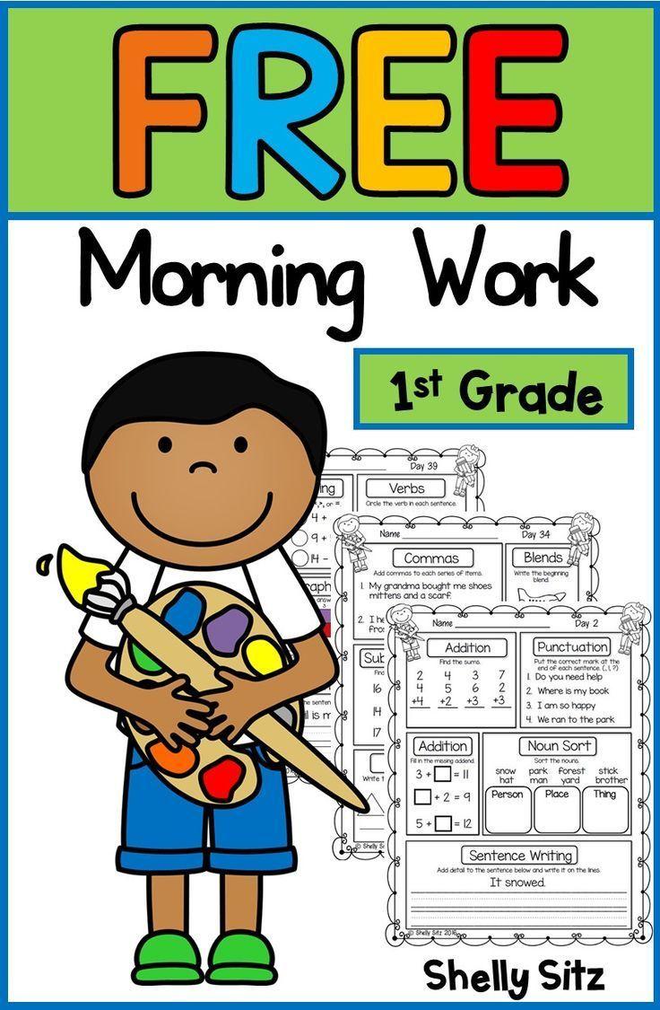 First Grade Morning Work In 2020 First Grade Homework 1st Grade Activities Free Morning Work [ 1125 x 736 Pixel ]