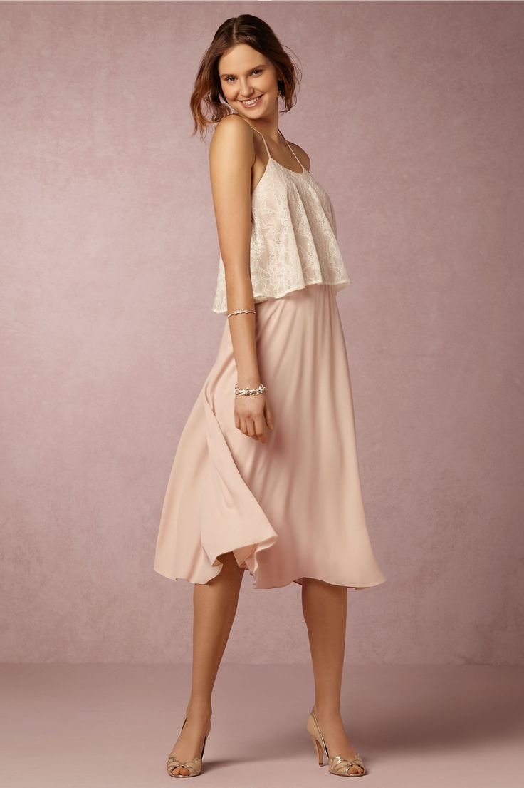 BHLDN Marin Dress in  New at BHLDN   LOVE LOVE this dress ?? Blush too light for MOB ??
