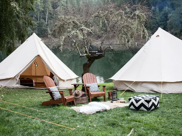 Shelter Co. - The idea was born out of a love for California's diverse landscape combined with nostalgia for the days of summer camp. Shelter Co. provides fully furnished European style canvas tents and all necessary amenities for group camping trips. They can provide everything from furnished tents and restrooms to full service catering and activities. Your guests are able to enjoy a unique experience in even the most far flung locations with all the comforts of home.
