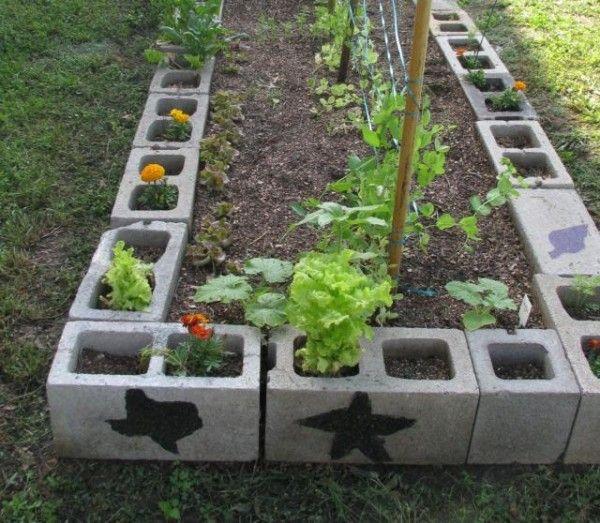 Ideas con ladrillos para el jardín 5