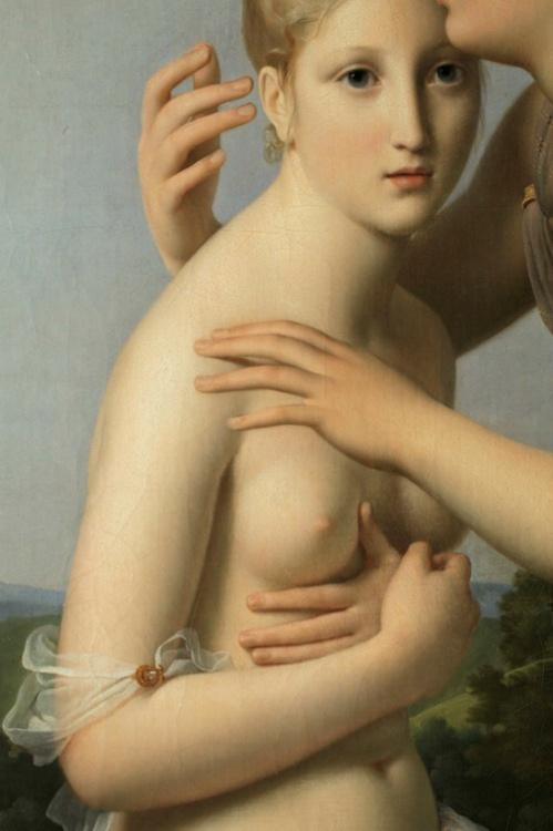 Psyche and Cupid detail, 1798, Musée du Louvre François Gérard
