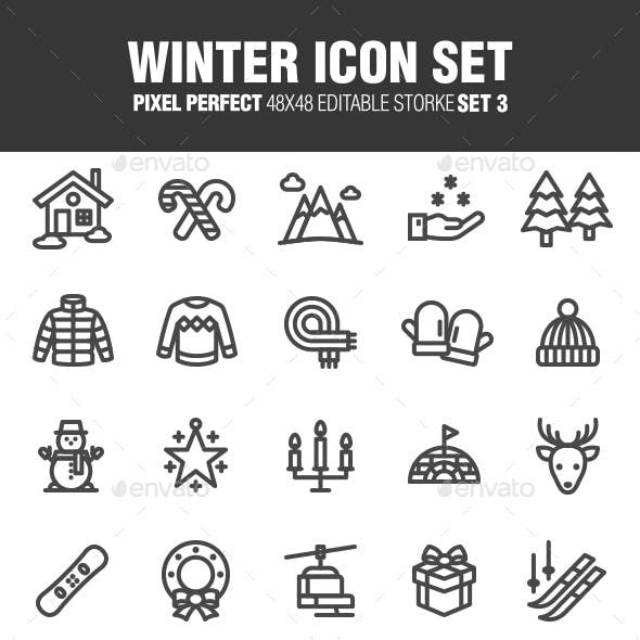 Winter Icon Set Set 3 With Images Icon Set Icon Best Icons