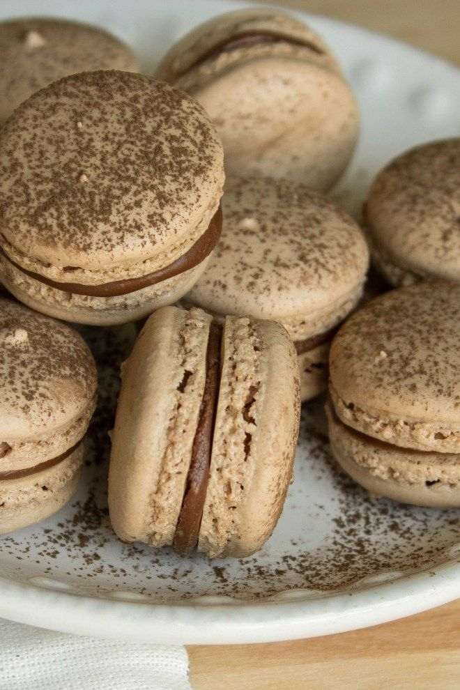 Dasz radę się im oprzeć? :) #macarnons #nutellamacarons #delicious
