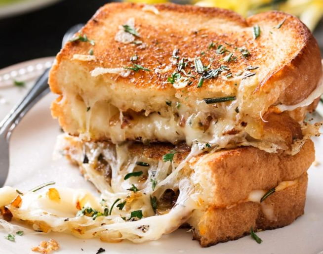 Gruyere Gourmet Grilled Cheese