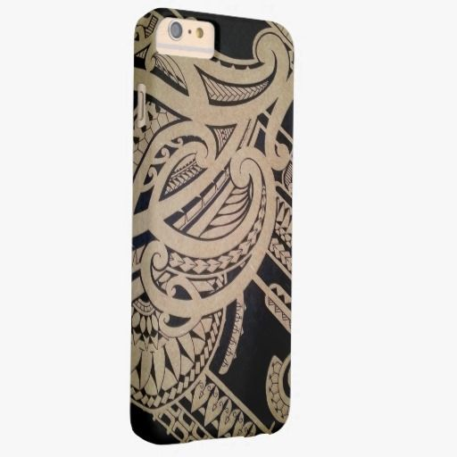 Awesome iPhone 6 Case! Maori tattoo art on wood barely there iPhone 6 plus case. It's a completely customizable gift for you or your friends.