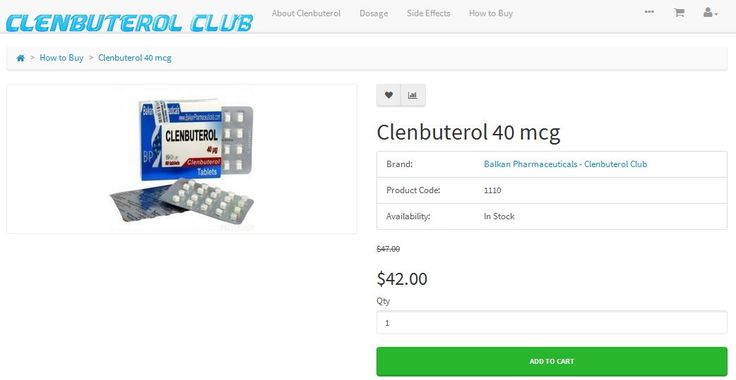 Buy online high quality & original Clenbuterol for fat burning & building lean muscle at Buyclenbuterol. club. Get 100% safe, Free Shipping on Order over $380, Discounts for loyal Customers + Discreet Delivery!