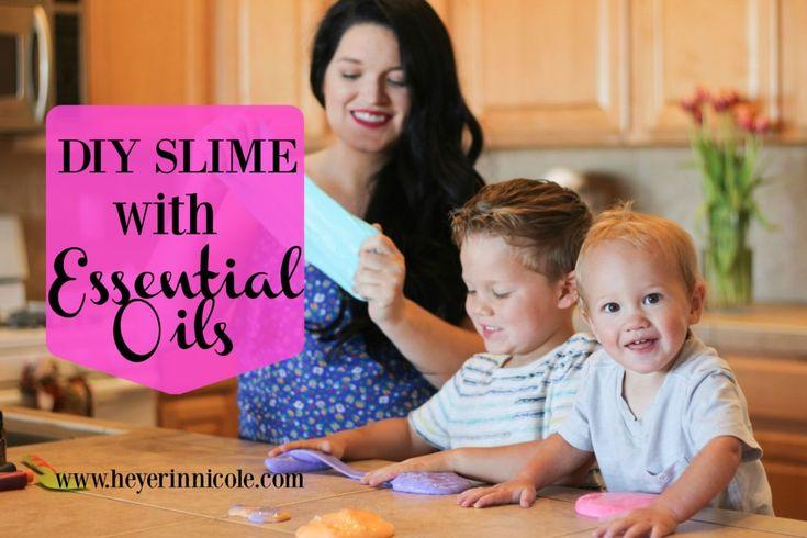 Hey Erin Nicole - DIY Slime with Essential Oils | Hey Erin Nicole