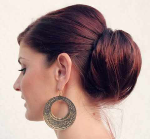 medium layered haircuts pictures 17 best ideas about low chignon on chignon 3690 | 01495d277a2668b4d0456c2f890d3690