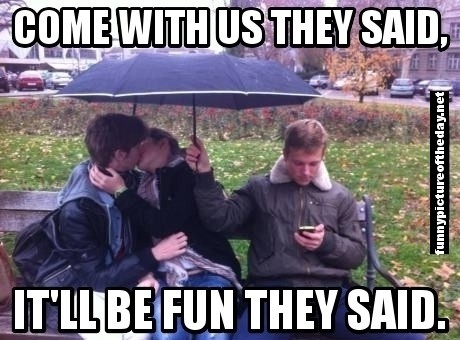 Come With Us They Said Meme It Will Be Fun Holding Umbrella @Elissa Eblin Eblin Ann