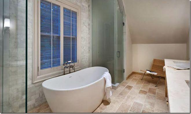 Princess Margaret Lottery Showhome 2012 - Vanessa Francis Design - tub at window