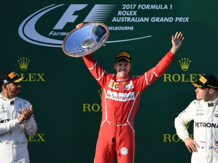 Four-time world champion Sebastian Vettel wins Australian Grand Prix :http://gktomorrow.com/2017/03/27/world-champion-sebastian-vettel/