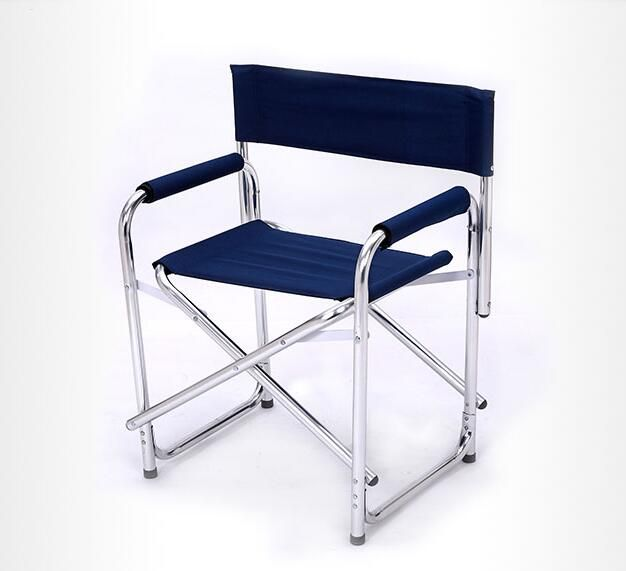 Newest Double Layer Cotton Padded Lounge Chair Aluminum Alloy Office Chairs Portable Folding Stool Outdoor Be In 2020 Lounge Chair Outdoor Padded Lounge Chair Chair