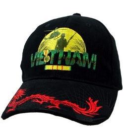 Vietnam Veteran Hat with Dragon