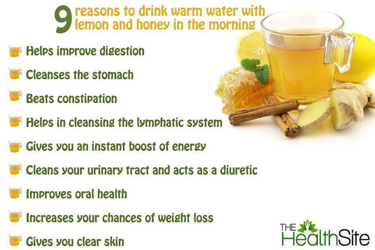 Drinking Hot Lemon Water For Constipation