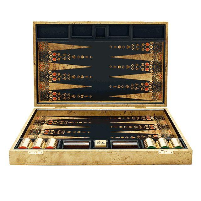 Alice Temperley Bead Backgammon Table by Alexandra Llewellyn Design