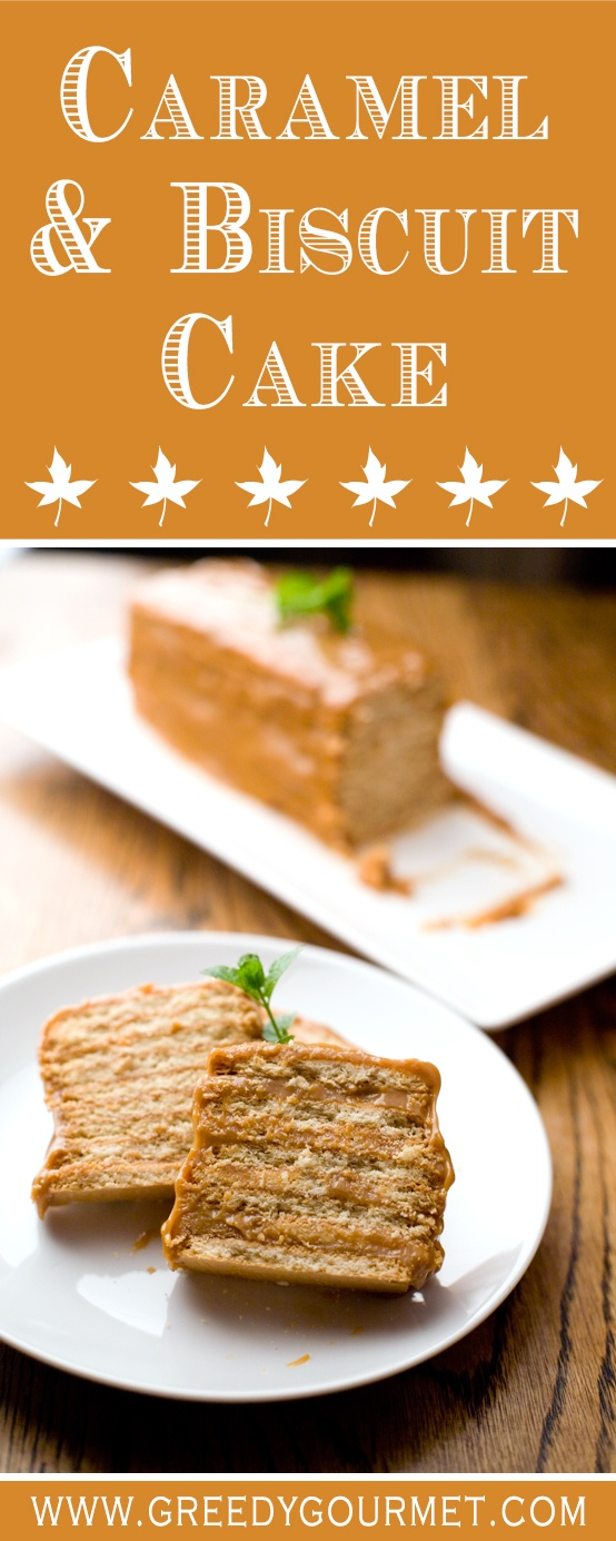 Caramel & Biscuit Cake is a classic South African dessert. I dare you to try it!