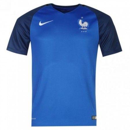 Frankrike 2016 Hjemmedrakt Kortermet.  http://www.fotballteam.com/frankrike-2016-hjemmedrakt-kortermet.  #fotballdrakter