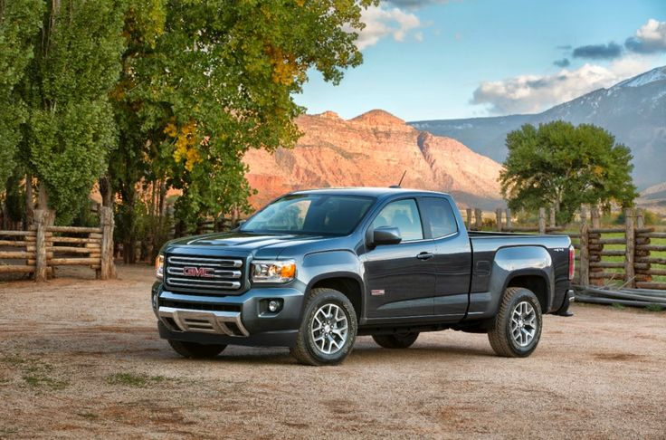 2015 GMC Canyon. Most powerful mid-sized truck in the segment. Coming to the GMC line-up this fall.