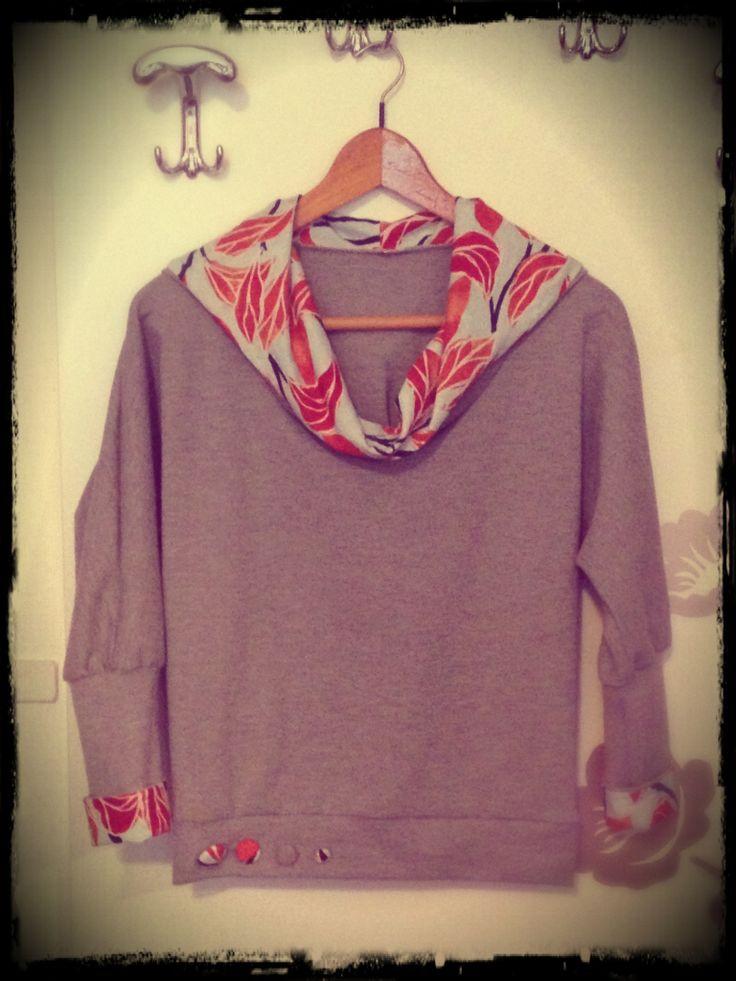Handmade sweatshirt