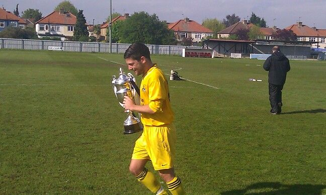 Witham Town, Essex senior cup winners 2012