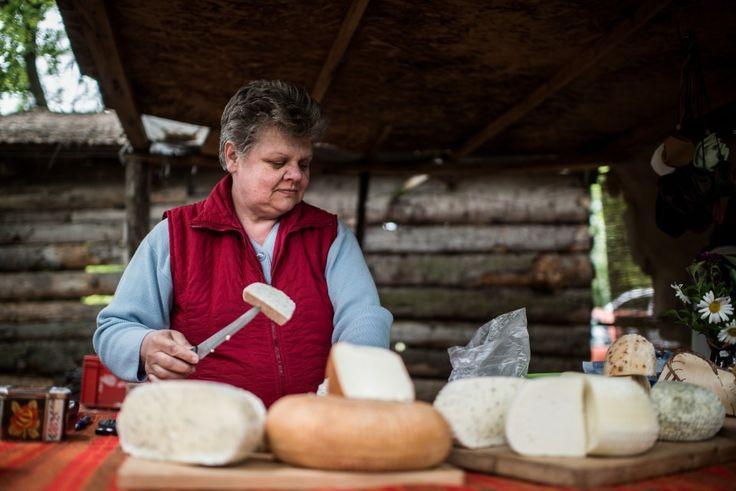 Organic Handmade Goat Cheese. #Hungary #Balaton #organic #handmade #cheese #gastronomy #food