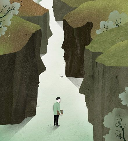The New York Times // Discussion on the topic of depression // illustration by Gracia Lam
