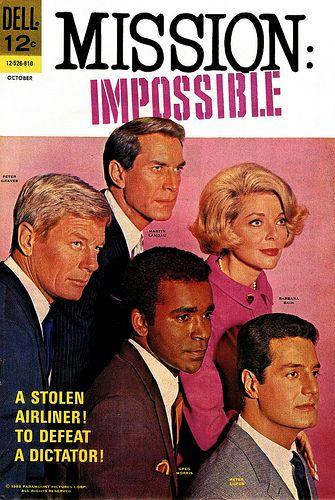 Mission impossible (Mission: Impossible) est une série télévisée américaine en 171 épisodes de 48 minutes, créée par Bruce Geller et diffusée entre le 17 septembre 1966 et le 30 mars 1973 sur le réseau CBS. En France, les premières saisons de la série seront diffusées à partir du 10 octobre 1967 sur la deuxième chaîne de l'ORTF. L'intégralité de la série sera diffusée par La Cinq dès le 2 mars 1987