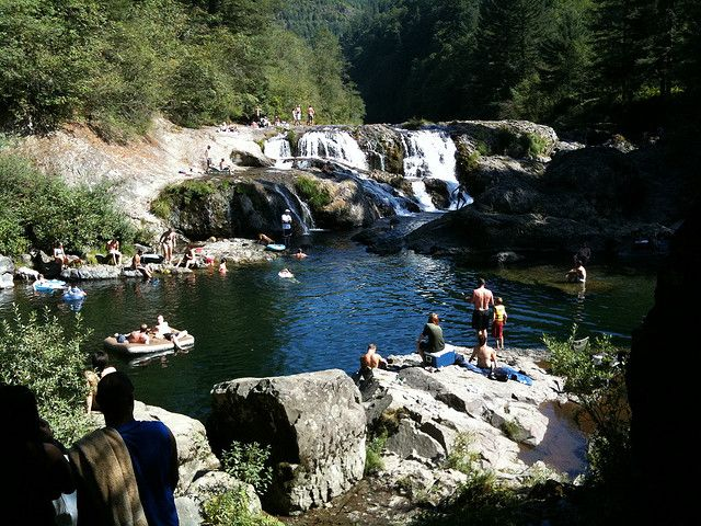 Dougan Falls Swimming Hole - Washougal WA