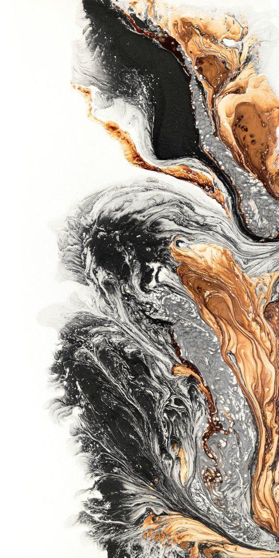 Giclée-Druck des ursprünglichen abstrakten Ölgemäldes mutige Kunst | Etsy #a…