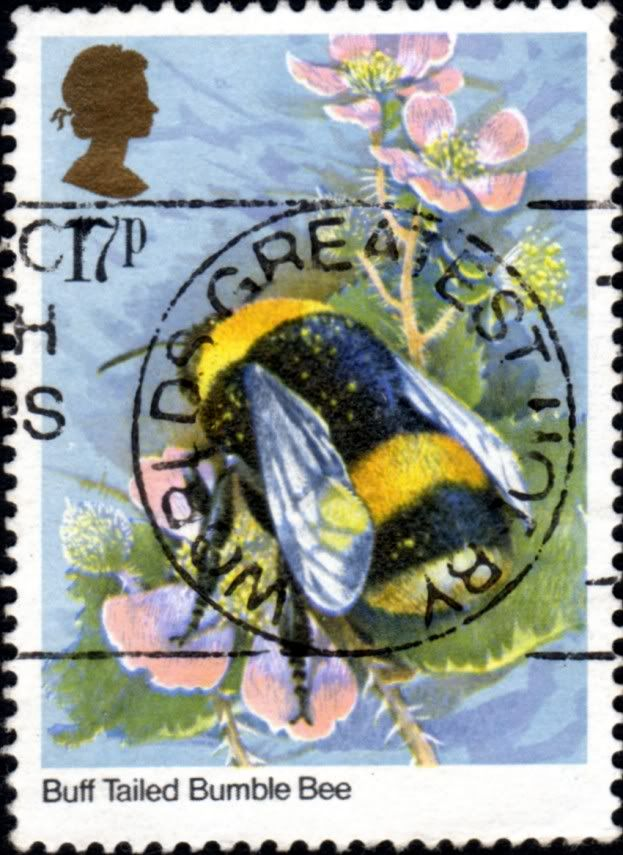 ≗ The Bee's Reverie ≗  Bumble Bee Stamp