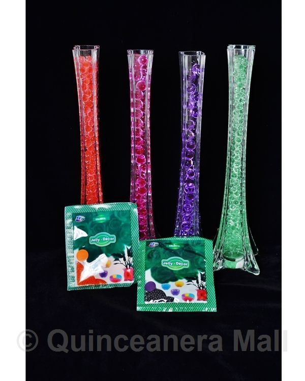 309 best images about crystal soil water beads decoration for Wholesale quinceanera craft supplies