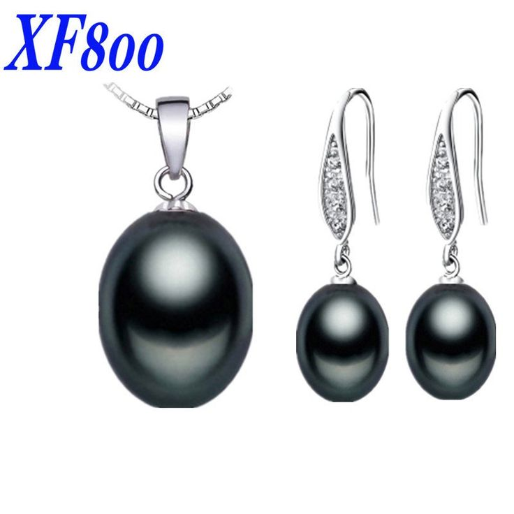 XF800 Natural Freshwater Pearl Jewelry Set