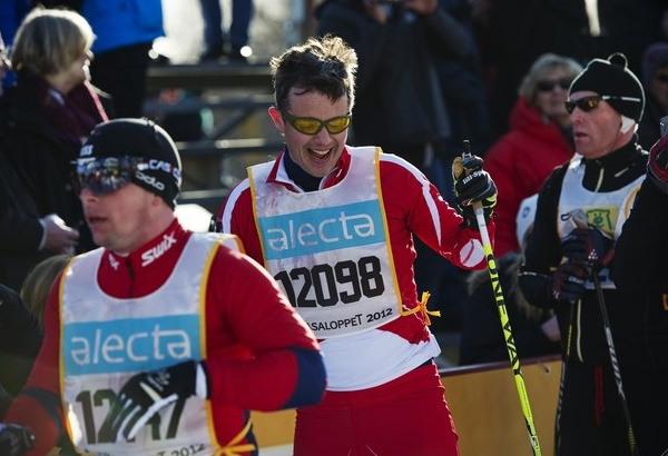 Den danske Kronprins Fredrik deltok i Vasaloppet