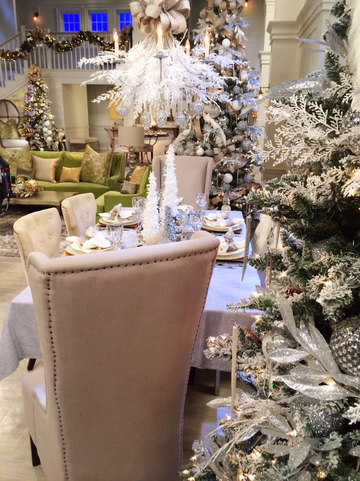"""Room with a view.....Stage set of QVC """"A Lisa Robertson Christmas"""" 2014.  It was like WOW, oh WOW!"""