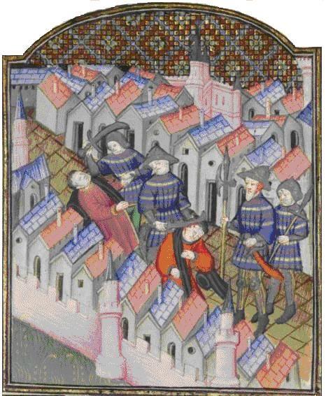 Восстание майотенов,или Восстание молотобойцев (фр.maillet-боевой молот, служивший осн/оружием восставших) в 1382г.-одно из событий движения против чрезмер.налогового гнета,характерного для Фр.во время правления регентов несовершеннолетнего Карла VI.Началось во многом под влиянием победы гентцев под предводительством Филиппа ван Артевельде и закончилось после их полного поражения.