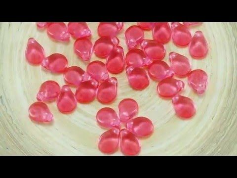 Czech Pip Flower Petal Beads in Solgel Finish ▶ NEW FINISH – Solgel – Popular Spring Faded Colors on Czech Beads! Try beads in Solgel – these beads will have unforgettable look on tanned skin this summer ;) SHOP NOW: www.CzechBeadsExclusive.com