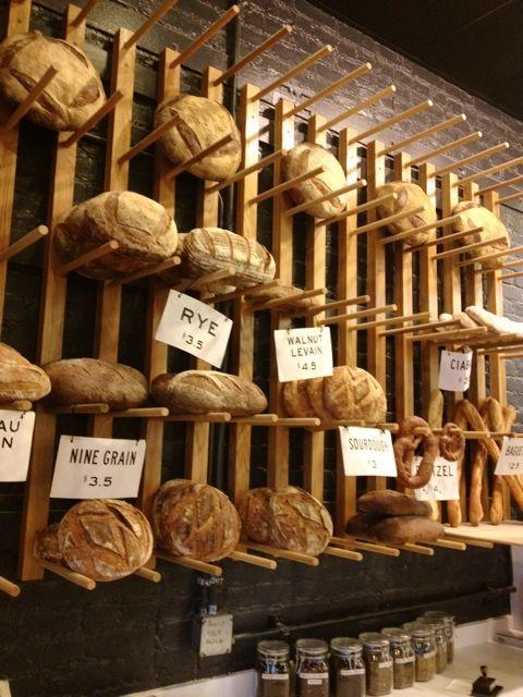 Easy Tiger bread wall