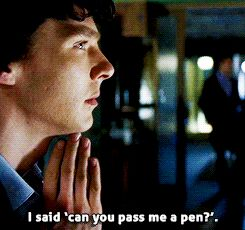 gif 1k Season 1 sherlock martin freeman sherlock holmes Benedict Cumberbatch john watson i am so sorry the blind banker katie SherlockEdit s01e02 i haven't uploaded in forever