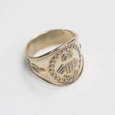 Kalevala Koru: sormus, hopea, Hankasalmelta 1700-luvulta