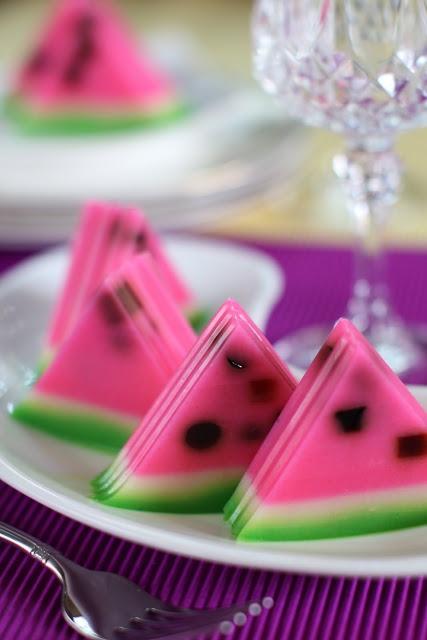 masam manis: DESSERT watermelon pudding