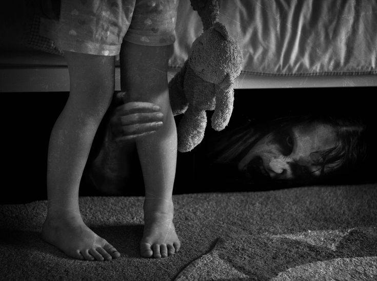 The Bogeyman - this is what i used to think was under my bed....this is what I still think is under my bed
