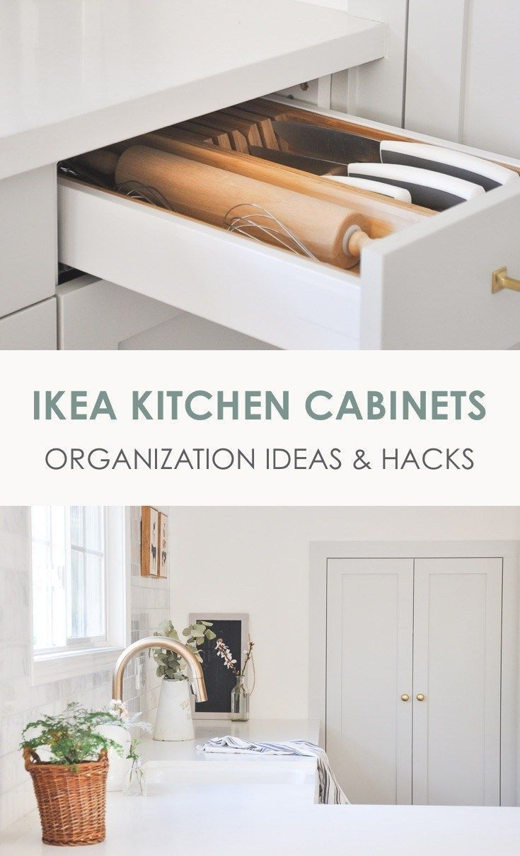 Kitchen Tour Part 2 | IKEA Kitchen Cabinets Organization