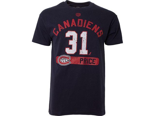 T-Shirt Old Time Hockey Cornerstone des Canadiens de Montréal - Price